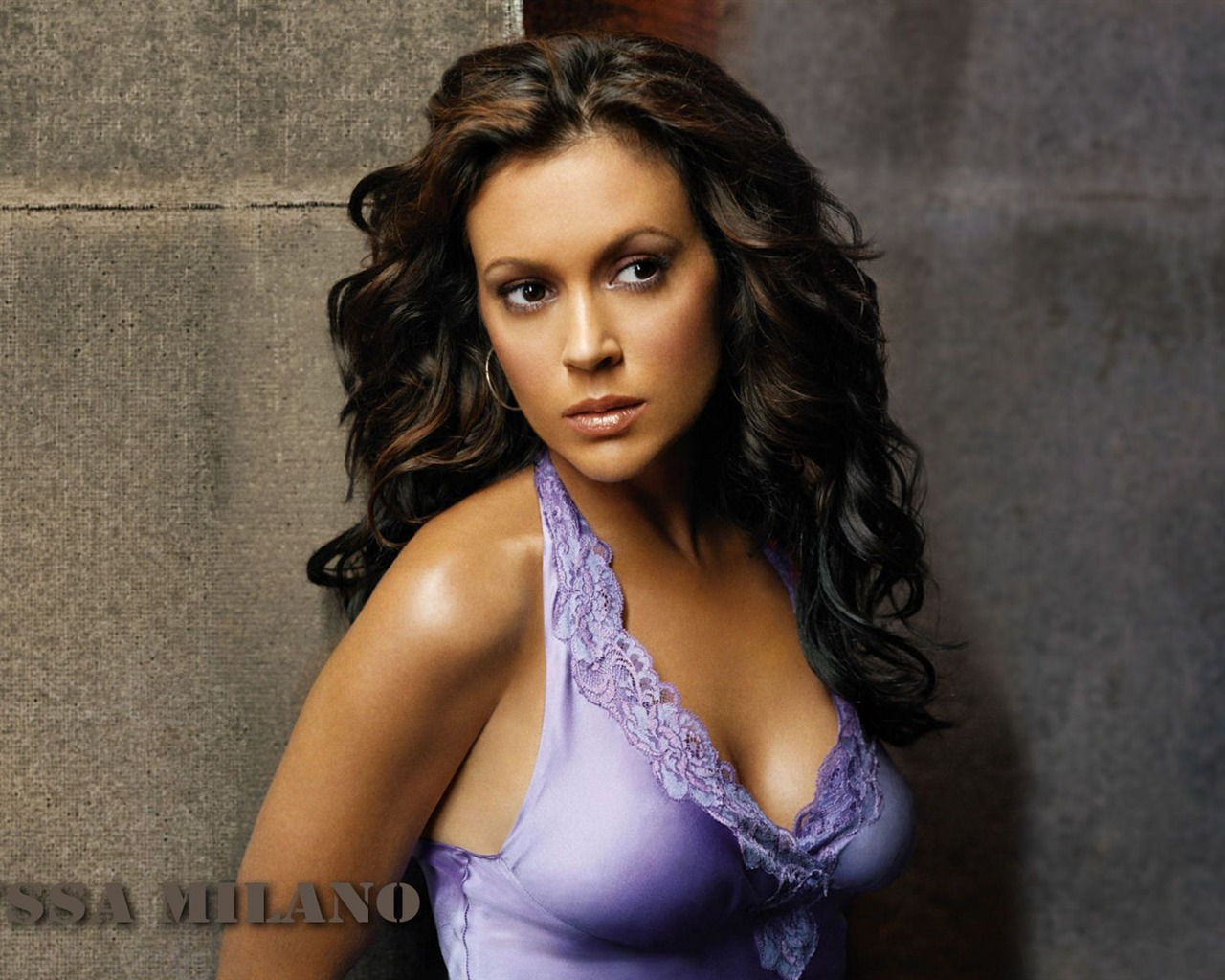 Alyssa Milano #030 - 1280x1024 Wallpapers Pictures Photos Images