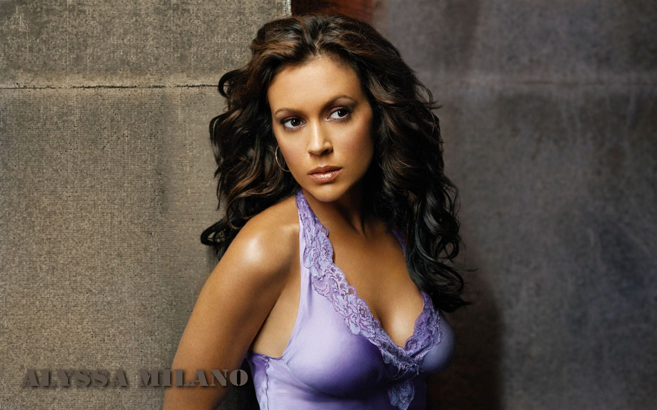 Alyssa Milano #030 - 1280x800 Wallpapers Pictures Photos Images