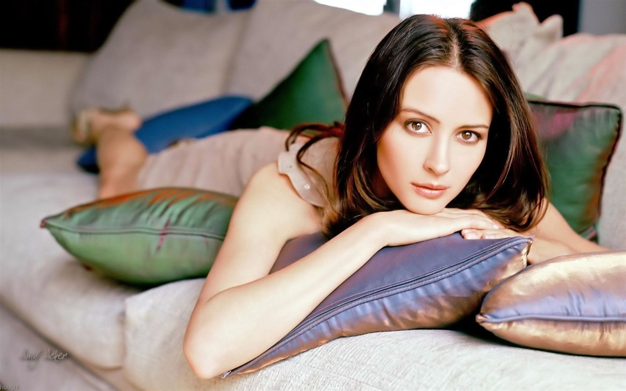 Amy Acker #010 - 1280x800 Wallpapers Pictures Photos Images