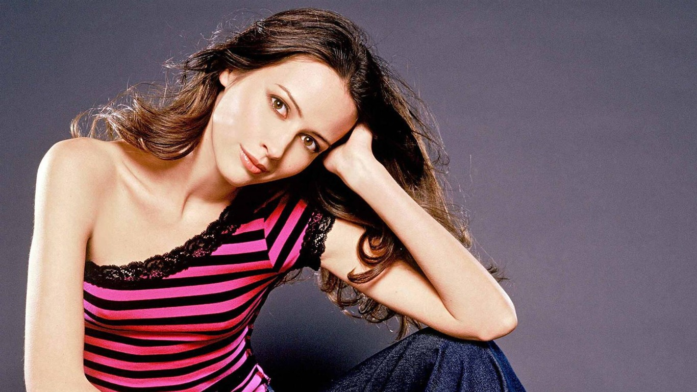 Amy Acker #011 - 1366x768 Wallpapers Pictures Photos Images
