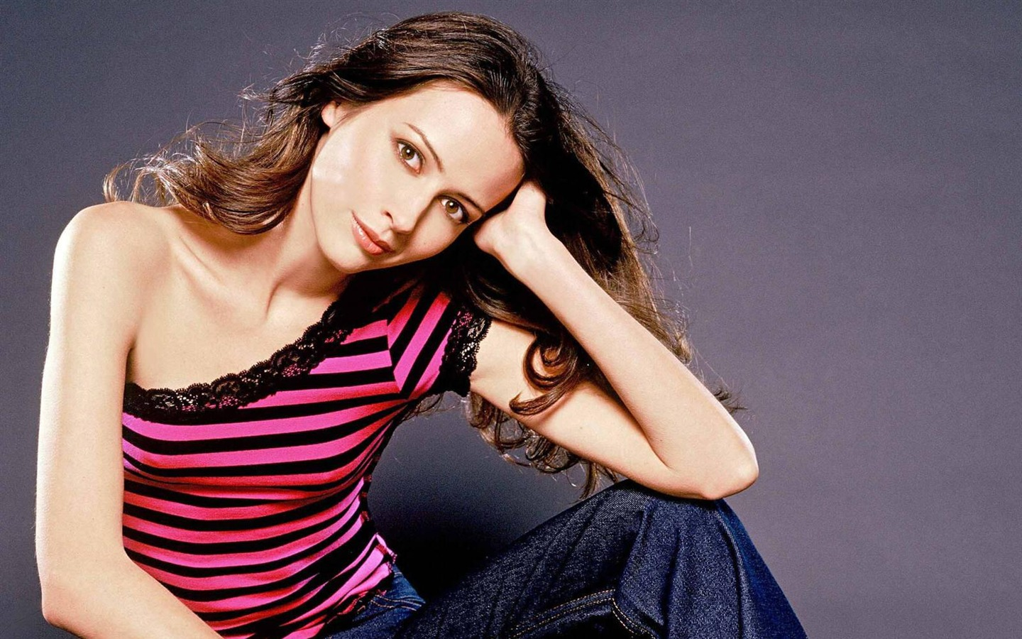Amy Acker #011 - 1440x900 Wallpapers Pictures Photos Images