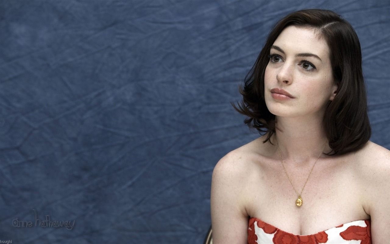 Anne Hathaway #034 - 1280x800 Wallpapers Pictures Photos Images