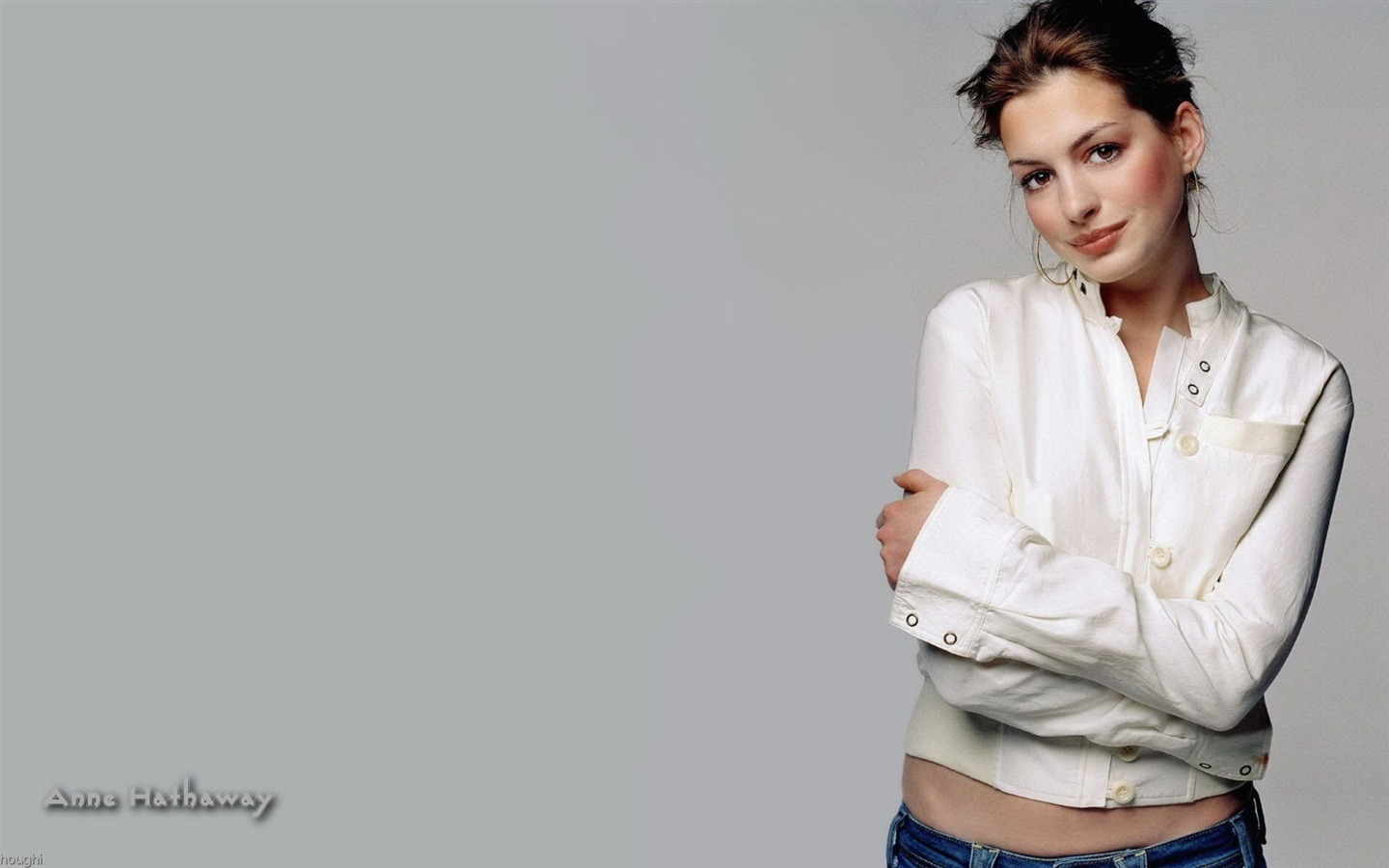 Anne Hathaway #044 - 1440x900 Wallpapers Pictures Photos Images