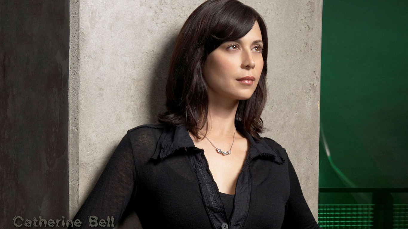 Catherine Bell #020 - 1366x768 Wallpapers Pictures Photos Images