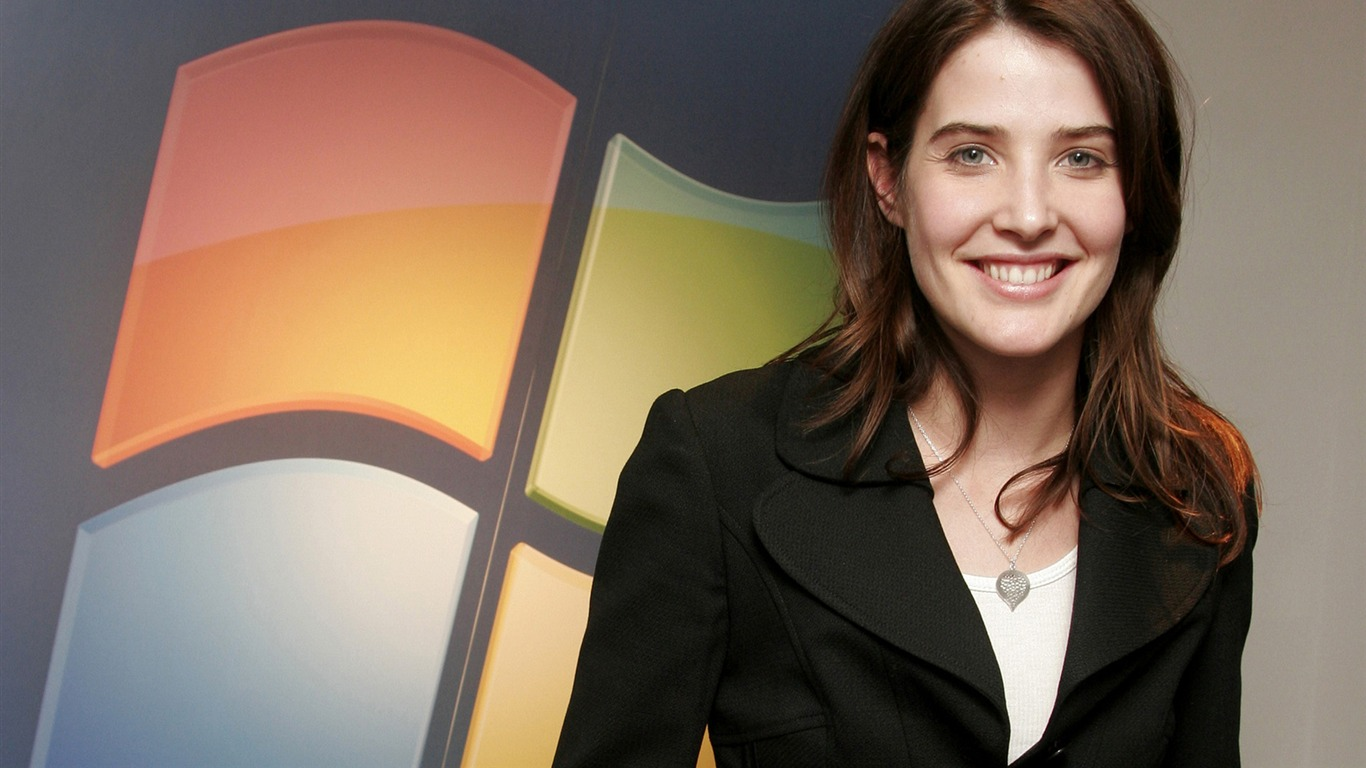 Cobie Smulders #009 - 1366x768 Wallpapers Pictures Photos Images
