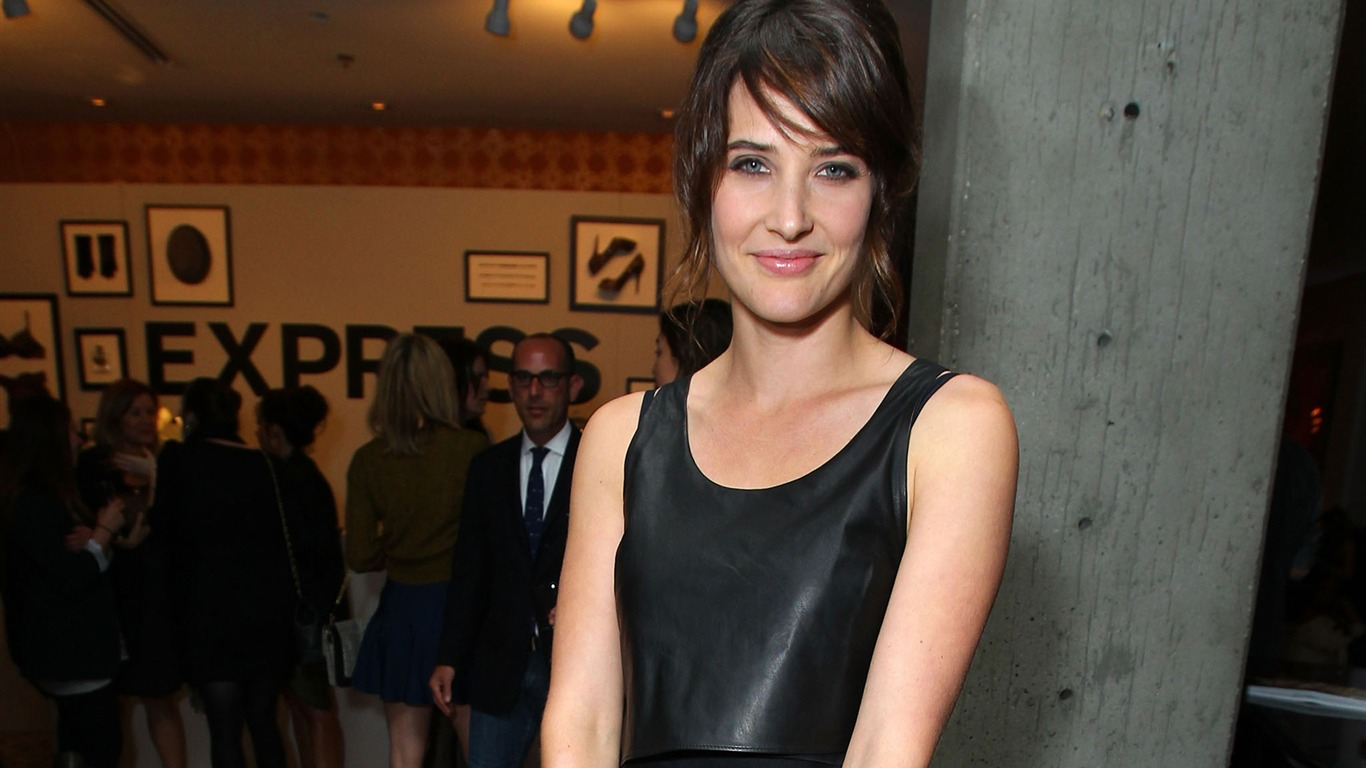 Cobie Smulders #014 - 1366x768 Wallpapers Pictures Photos Images