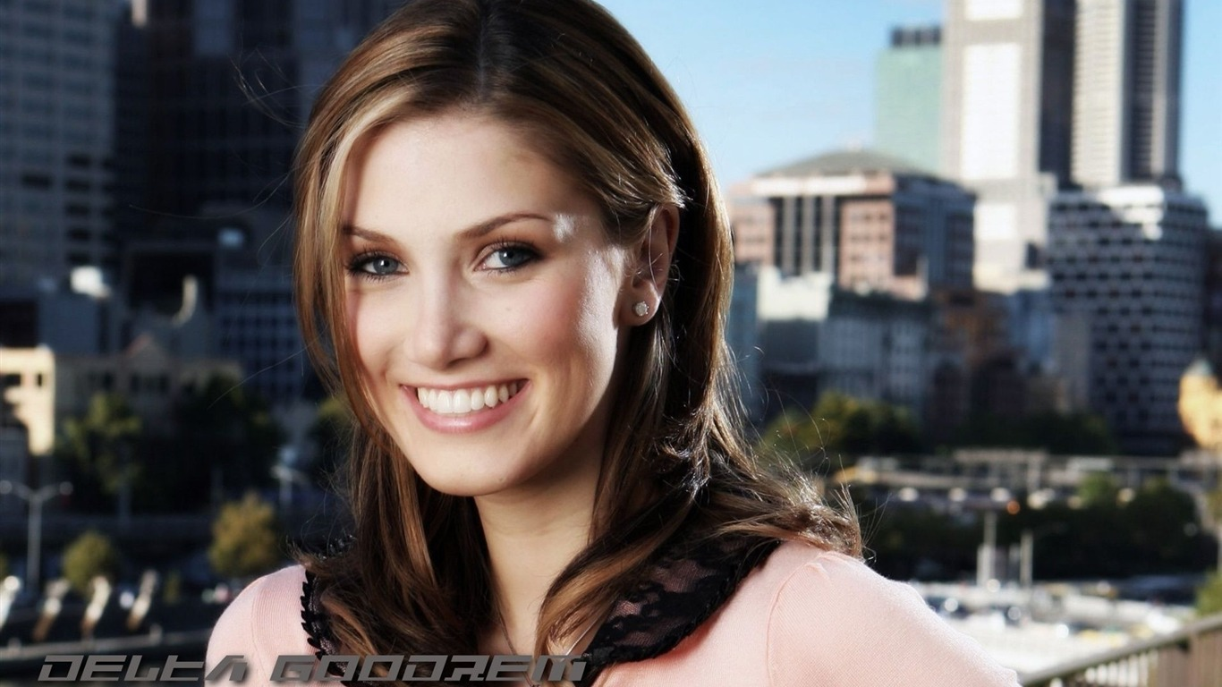 Delta Goodrem #001 - 1366x768 Wallpapers Pictures Photos Images