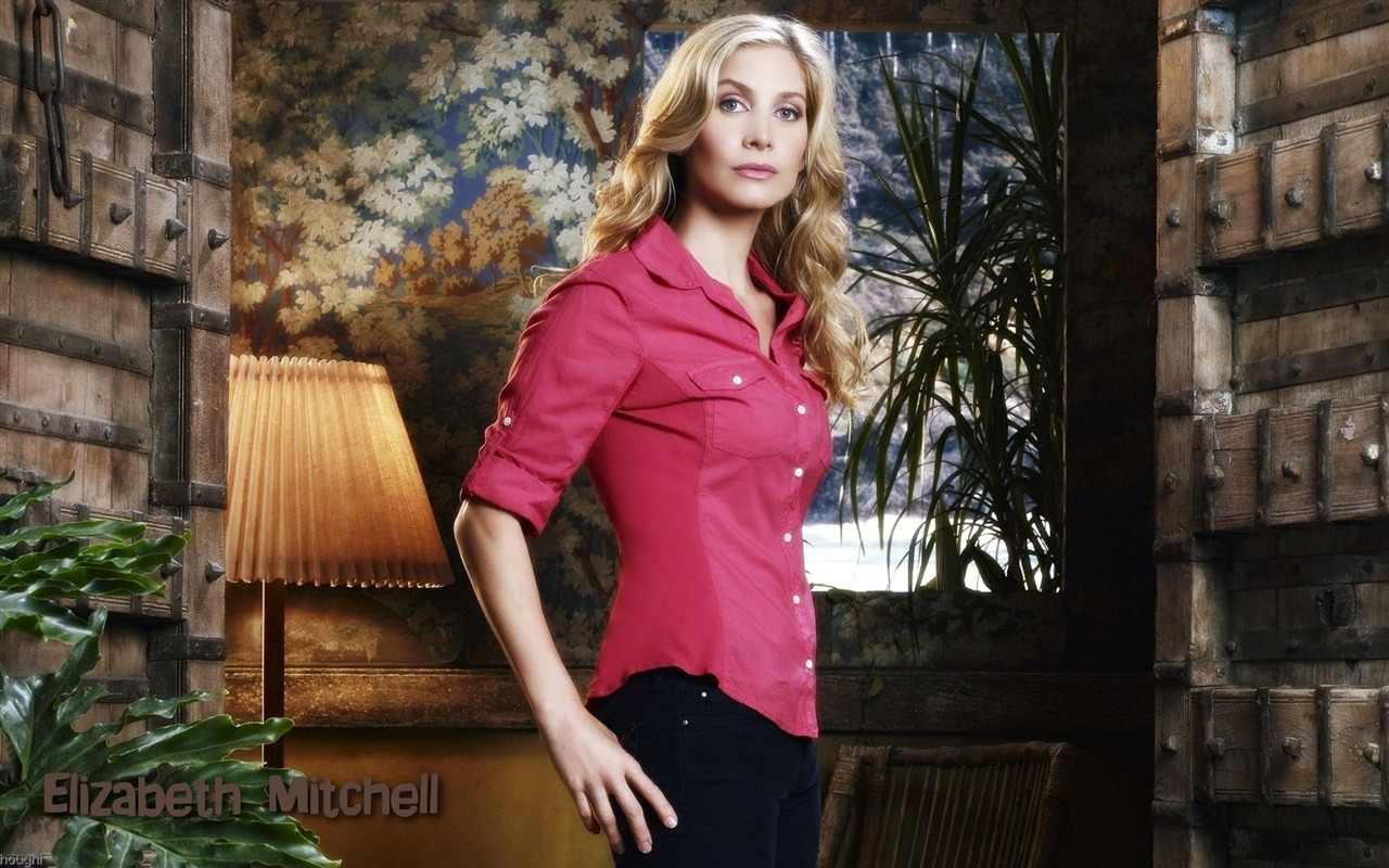Elizabeth Mitchell #008 - 1280x800 Wallpapers Pictures Photos Images