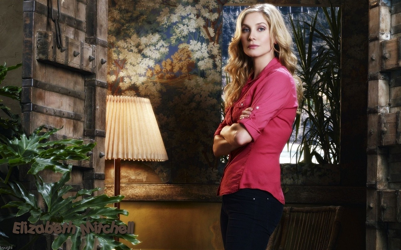 Elizabeth Mitchell #009 - 1280x800 Wallpapers Pictures Photos Images
