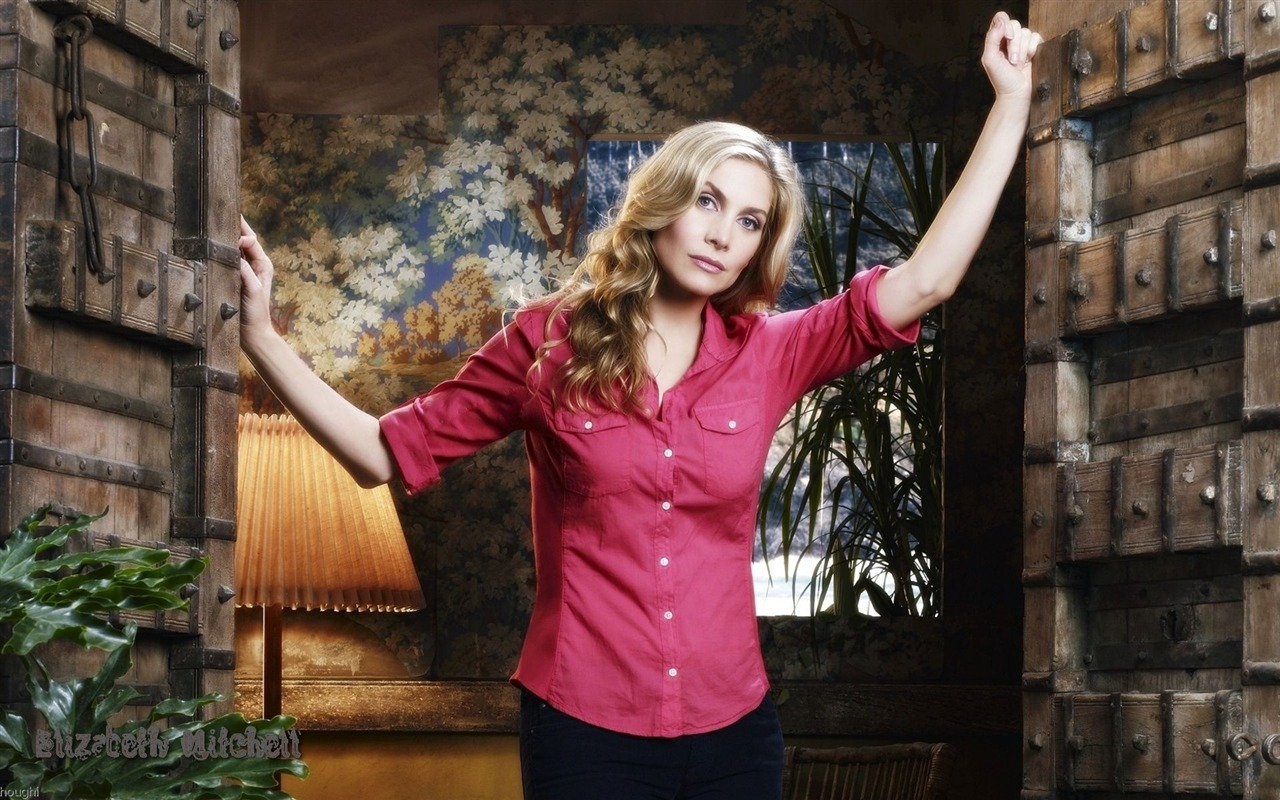 Elizabeth Mitchell #011 - 1280x800 Wallpapers Pictures Photos Images