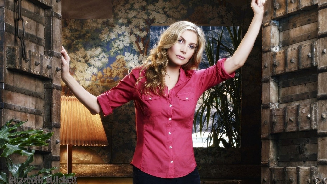 Elizabeth Mitchell #011 - 1366x768 Wallpapers Pictures Photos Images