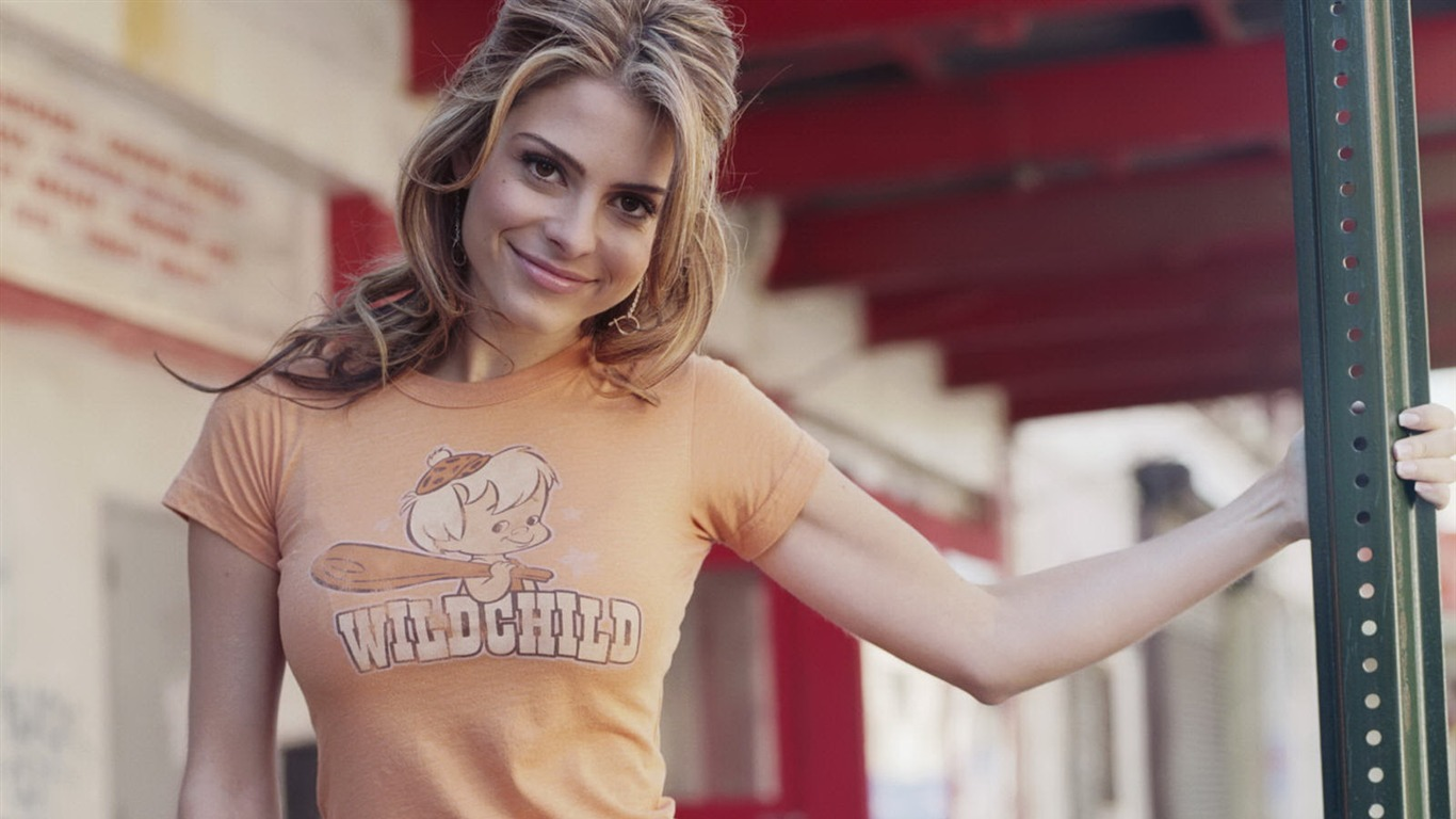 Maria Menounos #013 - 1366x768 Wallpapers Pictures Photos Images