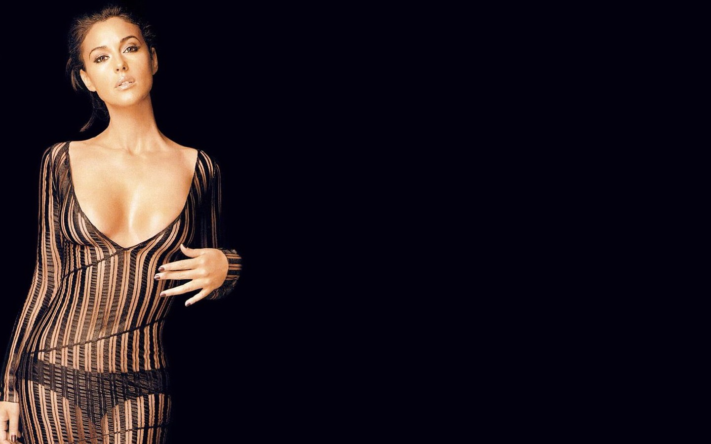 Monica Bellucci #008 - 1440x900 Wallpapers Pictures Photos Images